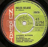 NB032-A Laurel Aitken HAILES SELASSIE