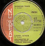 NB047-A Laurel Aitken SKINHEAD TRAIN