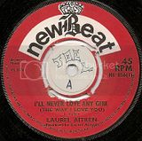 NB056-A Laurel Aitken I'LL NEVER LOVE ANOTHER GIRL THE WAY I LOVE YOU